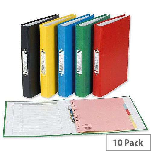 Concord Classic Ring Binder A4 Assorted O-Ring Capacity 25mm Pack 10