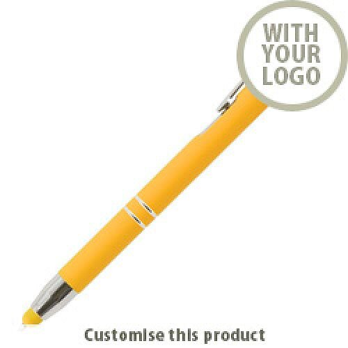 Crosby Soft Touch Stylus Ballpen 204485 - Customise with your brand, logo or promo text