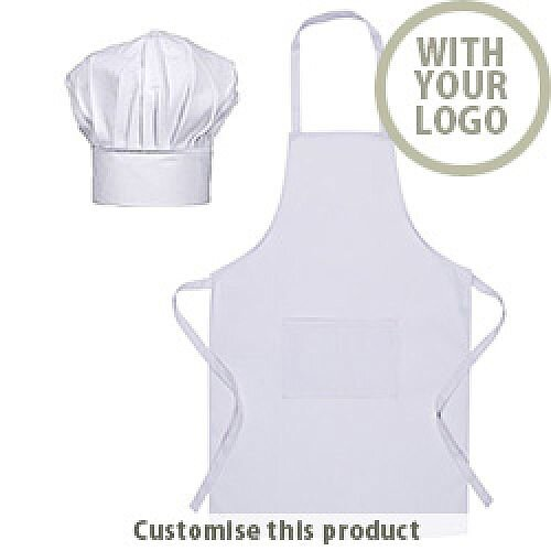 Chef Hat &Apron - Personalise with your corporate branding Legox 204831