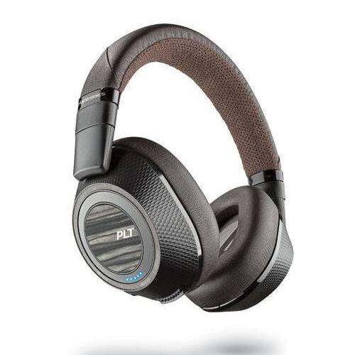 Plantronics BackBeat PRO 2 Over-Ear Wireless Bluetooth Headset with Microphone - Audio (3.5mm), Micro-USB - Black/Tan - 207110-05
