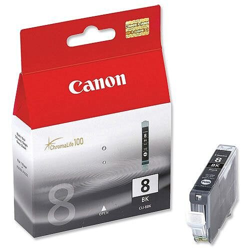 Canon CLI-8BK Black Ink Cartridge 0620B001