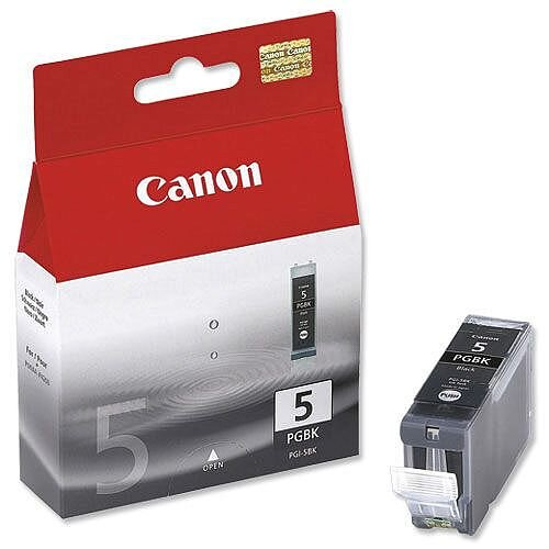 Canon PGI-5BK Black Ink Cartridge 0628B001