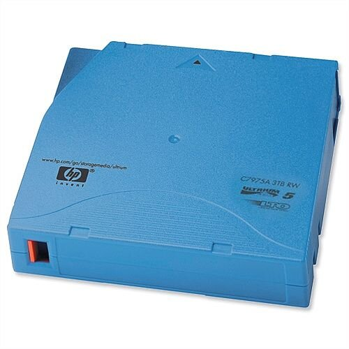 HP C7975A LTO5 3TB Ultrium Data Tape Cartridge RW