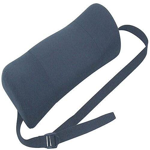 fellowes portable lumbar support soft brushed cover