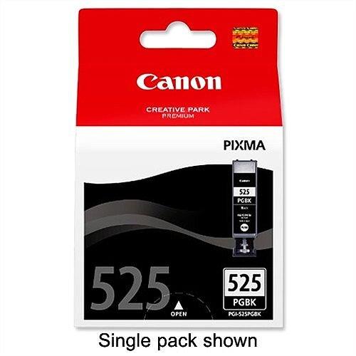Canon PGI-525 Black Ink Cartridges Twin Pack 4529B010