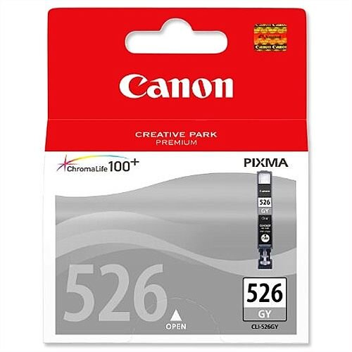 Canon CLI-526GY Grey Inkjet Cartridge 4544B001