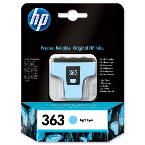 HP 363 Light Cyan Inkjet Cartridge C8774EE-ABB