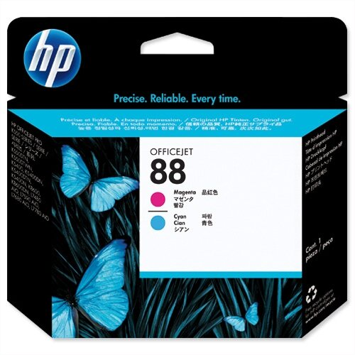 HP 88 Magenta and Cyan Officejet Printhead C9382A