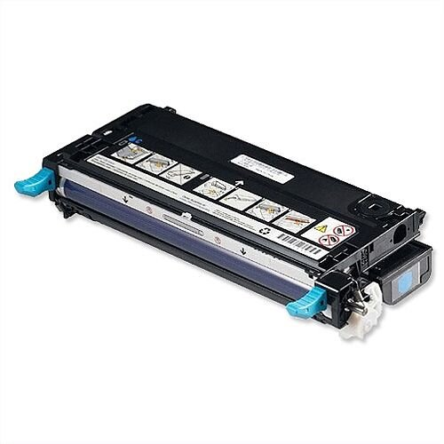 Dell RF012 Cyan Toner Cartridge 593-10166