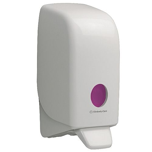 Kimberly Clark Aqua Hand Soap Dispenser Capacity 1L White 6976