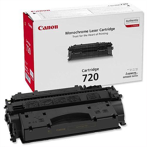 Canon 720 Black Toner Cartridge 2617B002