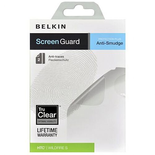 Belkin Screen Guard Anti-Smudge Screen Protector For HTC Mobile Phone Pack  of 2 F8M257CW2