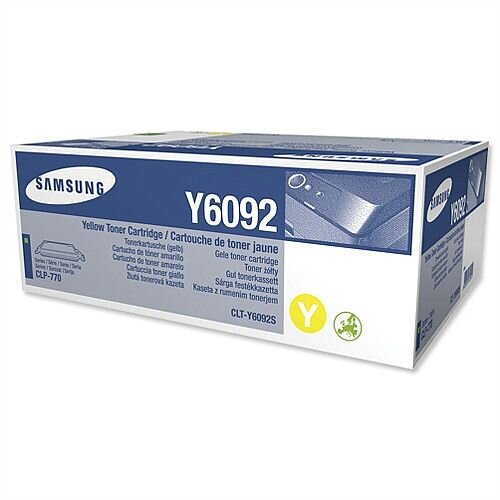 Samsung Y6092 Yellow Laser Toner Cartridge