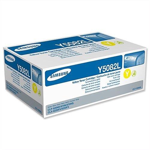 Samsung Y5082L Yellow High Yield Toner