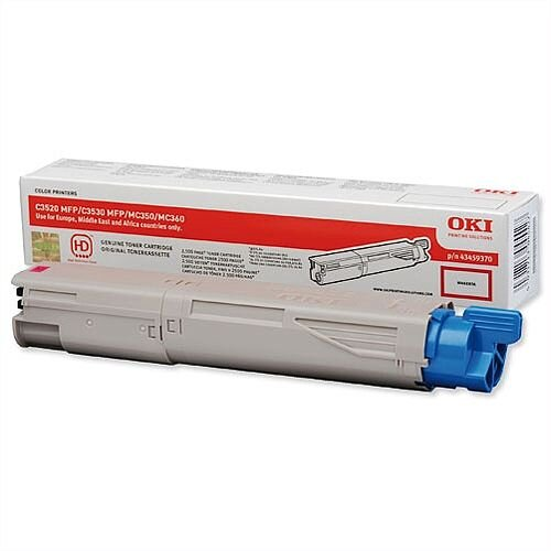 Oki 43459370 Magenta Laser Toner