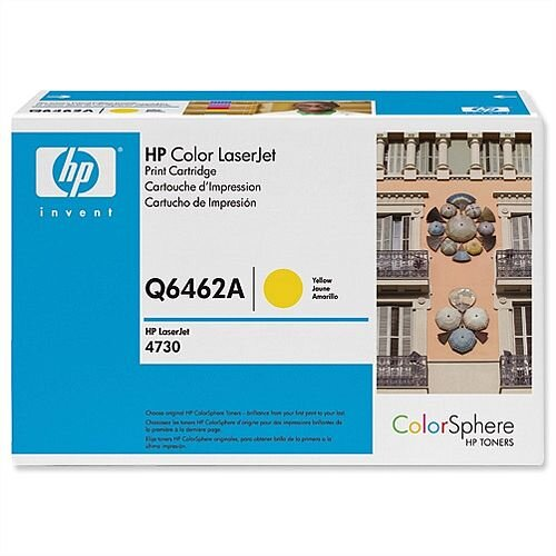 HP 644A Yellow LaserJet Toner Cartridge Q6462A