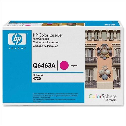 HP 644A Magenta LaserJet Toner Cartridge Q6463A