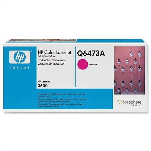 HP 502A Magenta LaserJet Toner Cartridge Q6473A