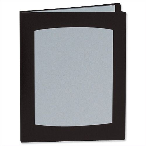 Rexel A3 Display Book 24 Pockets Black 10405BK