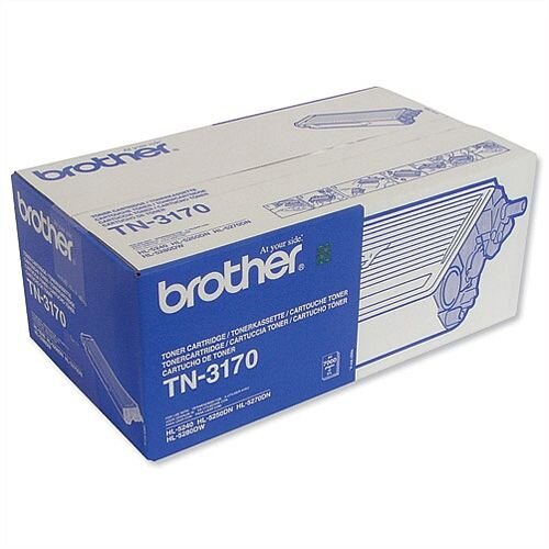 Brother TN-3170 Black High Capacity Toner Cartridge TN3170