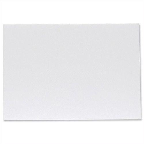 Foamboard Display Board Lightweight Durable CFC-free W594xD5xH840mm A1 White FBD4705WH Pack 10