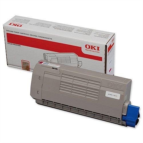 OKI 44318606 Magenta Toner Cartridge