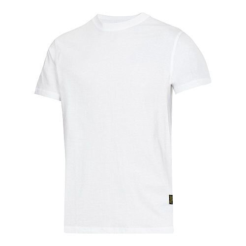 Snickers Classic T-Shirt White Regular WW4