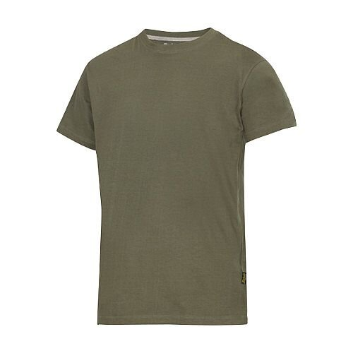 Snickers Classic T-Shirt Green Regular WW4