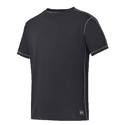 Snickers 2508 A.V.S. T-shirt Size S Black