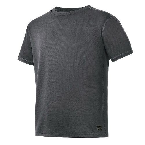 Snickers 2508 A.V.S. T-shirt Size S Steel Grey