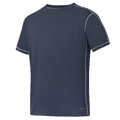 Snickers 2508 A.V.S. T-shirt Size S Navy