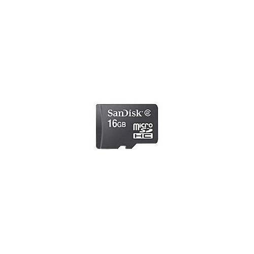 SanDisk - flash memory card - 16 GB - microSDHC
