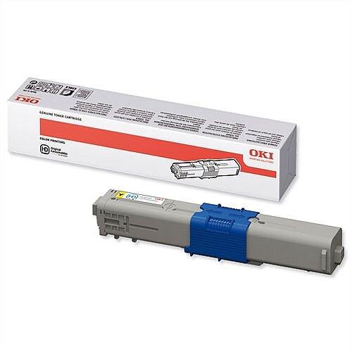 OKI 44469704 Yellow Toner Cartridge