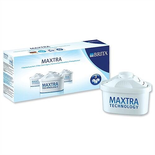 Brita Maxtra Water Filter Cartridge Refills S1513 Pack 3