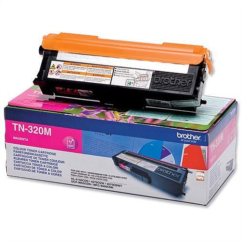 Brother TN-320M Magenta Laser Toner Cartridge TN320M