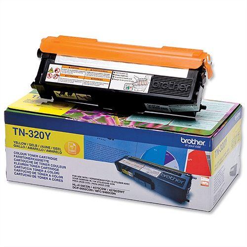 Brother TN-320Y Yellow Laser Toner Cartridge TN320Y