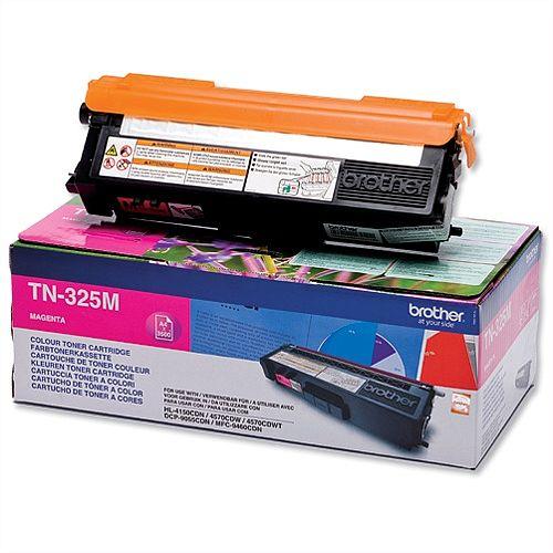 Brother TN-325M Magenta High Capacity Laser Toner Cartridge TN325M