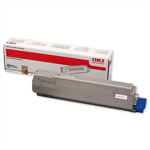 OKI 44643004 Black Toner Cartridge