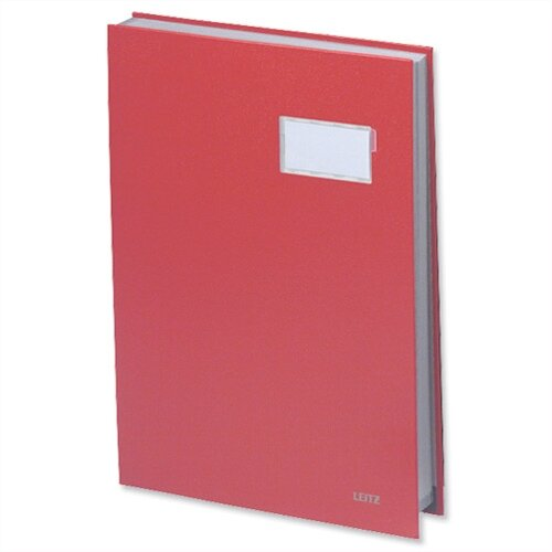 Visitors Signature Book Red 20 Compartments Durable Blotting Card 340 x 240mm