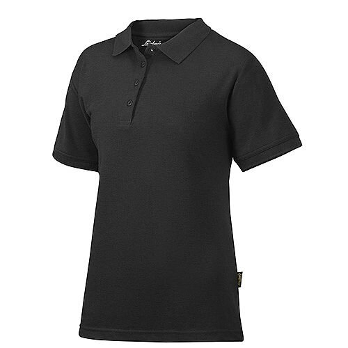 Snickers 2702 Women's Polo Shirt Size S Black