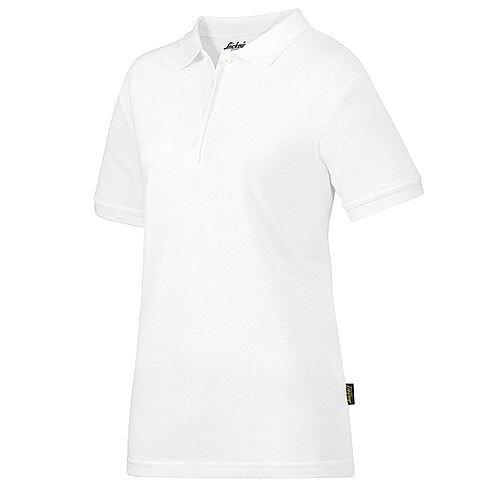 Snickers 2702 Women's Polo Shirt Size XL White