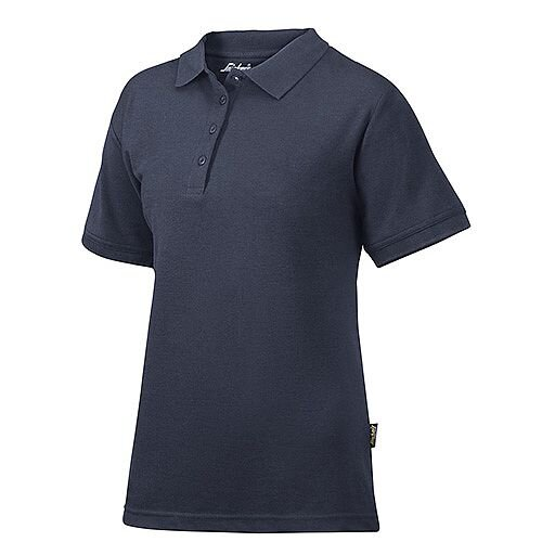 Snickers 2702 Women's Polo Shirt Size M Navy