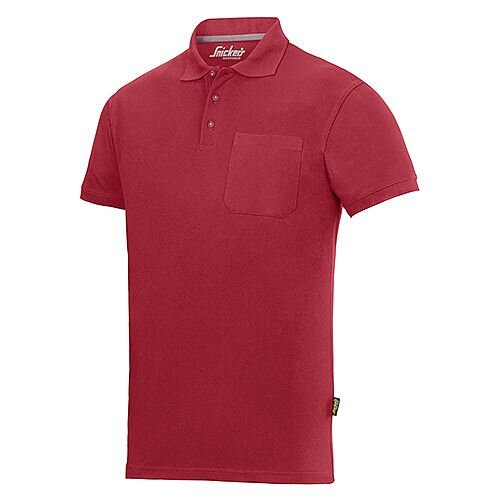 Snickers 2708 Classic Polo Shirt L Regular Chili red - 1600