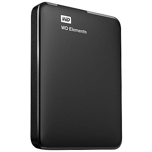 WD Elements Portable WDBUZG5000ABK External, Portable Hard Drive, 500GB, USB 3.0, Black