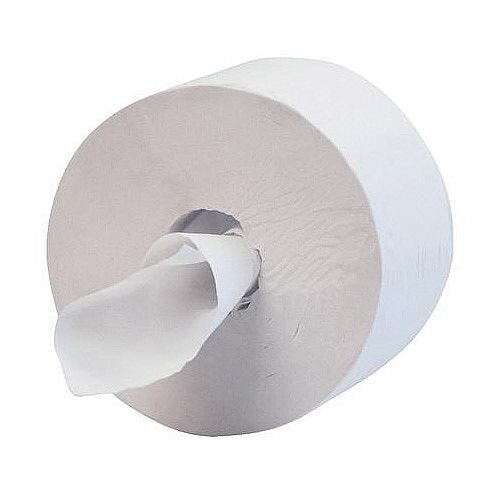 Kimberly Clark Maxi Jumbo Dispenser Hostess 400 Toilet Tissue Rolls 400m 1 Ply White Pack 12 Ref 8613