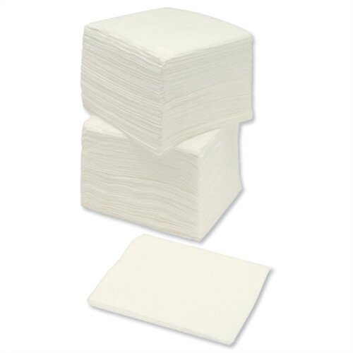 Paper Napkins Economy 1-Ply Tissue 330x330mm White Pack 500