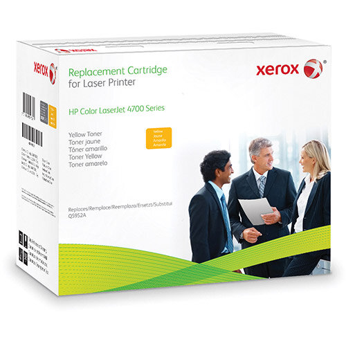 Xerox HP Colour LaserJet 4700 series - Yellow - toner cartridge (alternative for: HP Q5952A) - for HP Color LaserJet 4700, 4700dn, 4700dtn, 4700n, 4700ph+