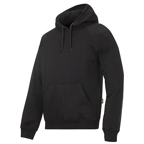 Snickers Classic Hoodie Black Size S Regular WW4