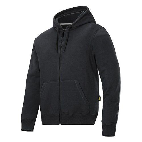Snickers Classic Zip Hoodie Black Regular WW4