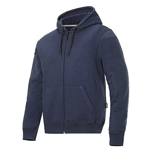 Snickers Classic Zip Hoodie Navy Regular WW4